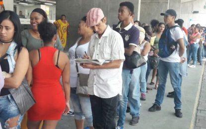 Desempleo en Colombia subió a 10.8 % en febrero de 2018