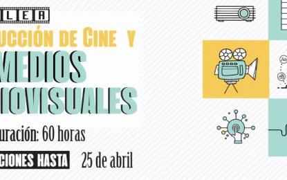 Inscripciones abiertas para Taller de Producción de Cine y Medios Audiovisuales