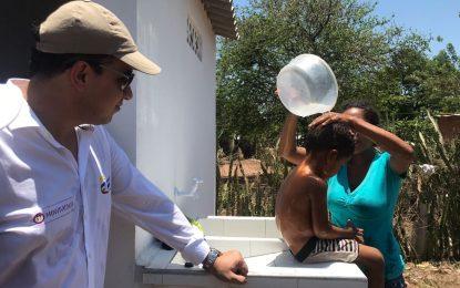 470 hogares de La Paz, Cesar se benefician con acueducto y alcantarillado