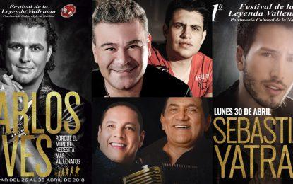 Está es la programación musical en el Parque de la Leyenda durante el 51° Festival Vallenato