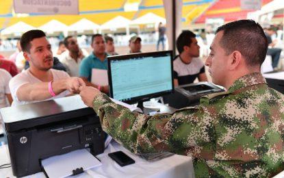 2515 remisos solucionaron su situación militar en Valledupar