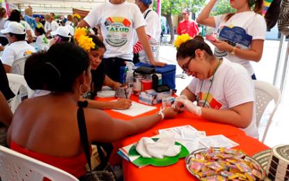 Festival de la salud entre la prevención y la atención