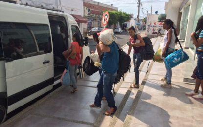 Deportados de Valledupar, 10 venezolanos que trabajaban en lavaderos de carros sin permiso