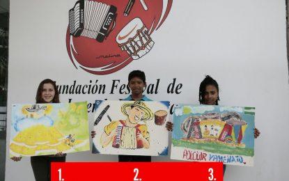 Estos son los ganadores del concurso Vives Pintando del Festival Vallenato