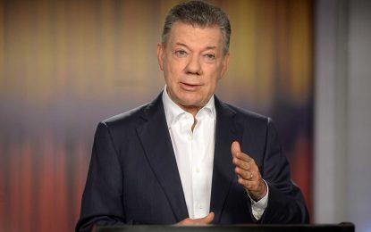Llegó el momento de expresarse en democracia, en paz, con el voto: Santos