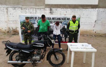 Capturados cinco hombres en el Cesar y la Guajira