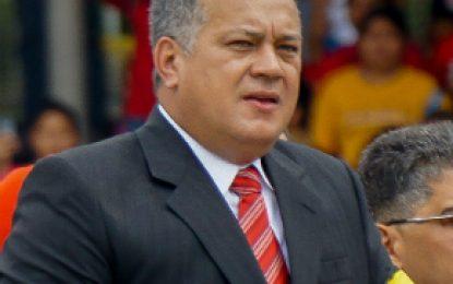 Diosdado Cabello y su esposa fueron incluidos en la Lista Clinton
