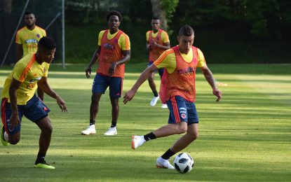 Selección Colombia prepara partido amistoso ante Egipto
