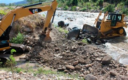 Con imágenes satelitales la ANM contralará explotación de materiales de arrastre y de construcción en Cesar