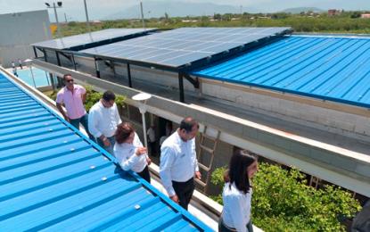 CDI del Lorenzo Morales funcionará con energía de panelessolares