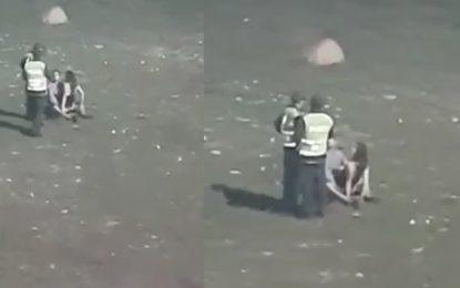 Policía sorprendió a pareja teniendo sexo en el parque de la Leyenda Vallenata