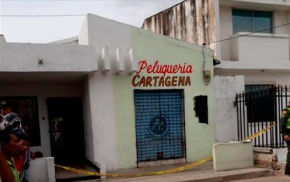 Triple homicidio en una peluquería en Maicao, Guajira