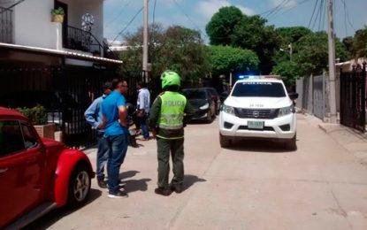 Herido Policía y su esposa en un intento de atraco en Valledupar