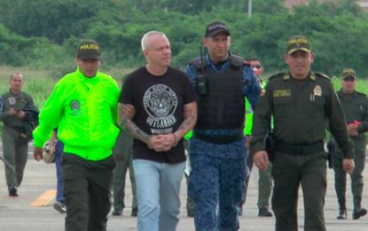 Alias Popeye regresó a la Penitenciaría en Valledupar