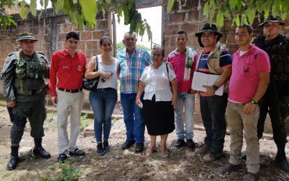 Víctima del paramilitarismo recuperó sus tierras, ubicadas en Pailitas, Cesar