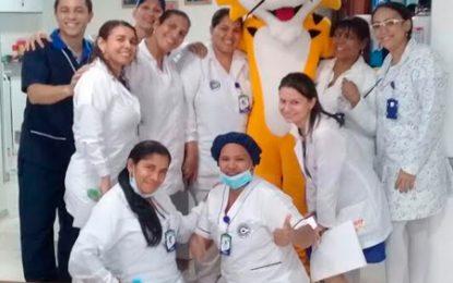 Servicio de Quimioterapia de Sohe celebra día de la enfermera