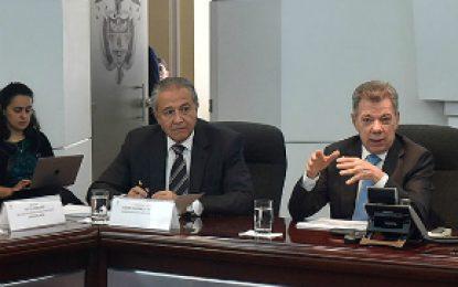 Santos reitera orden de reforzar el sistema de monitoreo en Hidroituango