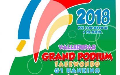 Inició en Valledupar el Grand Podium de Taekwondo clasificatorio a Jugos Nacionales