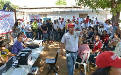 21 barrios de la Comuna Uno de Valledupar, beneficiados por programa Personería al Barrio