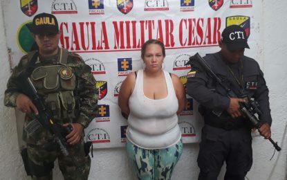 Capturada mujer que extorsionaba en el Cesar