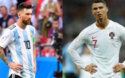Messi y Cristiano, la mala racha que los une en sus cuatro Mundiales