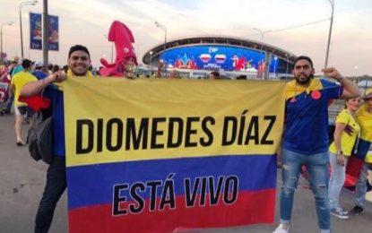 Diomedes Díaz está vivo en Rusia