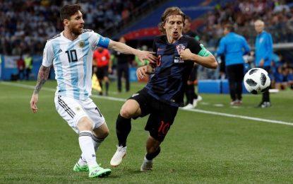 Argentina pierde 3 – 0 ante Croacia y complica su paso a octavos de Rusia 2018