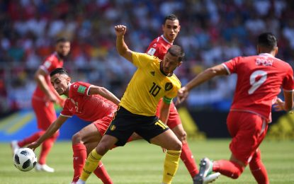 Bélgica brilla en una fiesta con siete goles