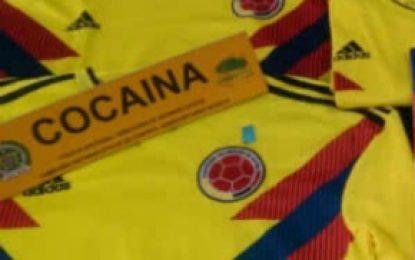 Incautan en el Aeropuerto El Dorado camisetas de la Selección Colombia impregnadas de cocaína