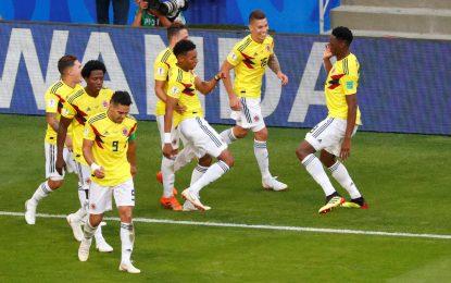 Colombia llega a Moscú para el duelo de octavos ante Inglaterra