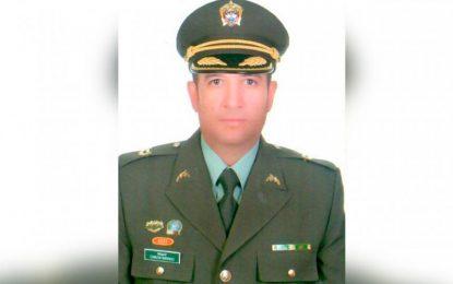 Policía rindió homenaje a Comandante del Gaula en Cesar que perdió la vida combatiendo la extorsión