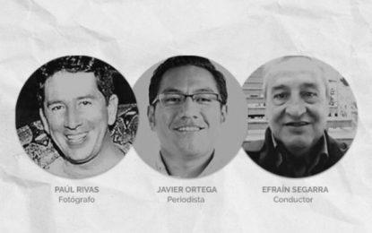 Encuentran cuerpos que serían de los tres periodistas ecuatorianos asesinados por alias 'Guacho'