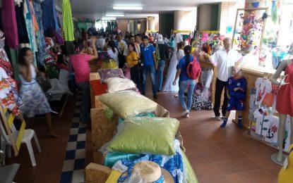 160 microempresarios participaron en primera feria regional de fortalecimiento empresarial en Valledupar