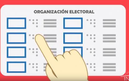Listas las tarjetas en tinta-braille para la segunda vuelta electoral