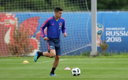 Selección Colombia se entrenó con la mira puesta en Polonia