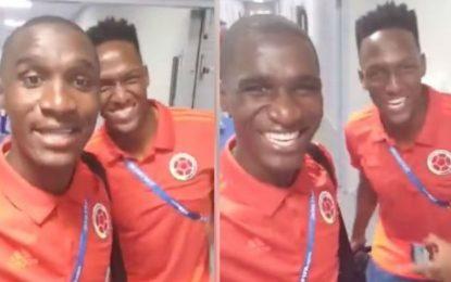Que no se trabaje el martes: el divertido llamado de Yerry Mina y Cristian Zapata
