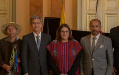 Cuatro nuevas bibliotecas donó el Gobierno de Japón a Colombia