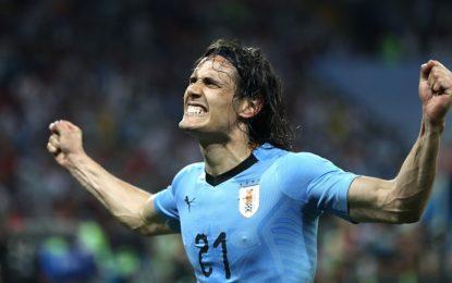 Uruguay-Francia, primer partido de cuartos de final