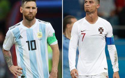 Messi y Ronaldo, adiós prematuro de los iconos de una era