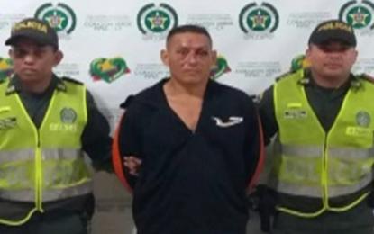 Hombre venezolano fue capturado por agredir sexualmente a adolescente en Valledupar