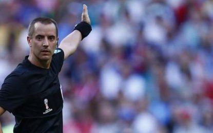 Mark Geiger de Estados Unidos, el árbitro para Colombia contra Inglaterra
