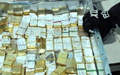 Armada Nacional incauta lingotes de oro avaluados en más de $6 mil 100 millones del clan del golfo