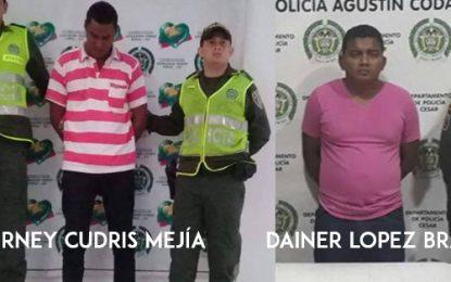 En Codazzi y San Martín, fueron capturados dos hombres por agresión sexual