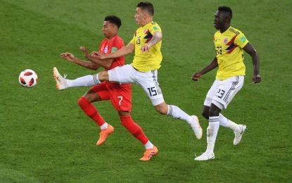 ¡Esto se definirá en los penales! Colombia 1 – 1 Inglaterra