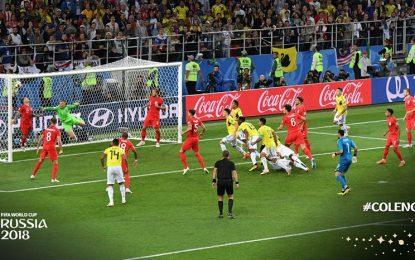 Colombia queda fuera de Rusia tras perder en penales frente a Inglaterra