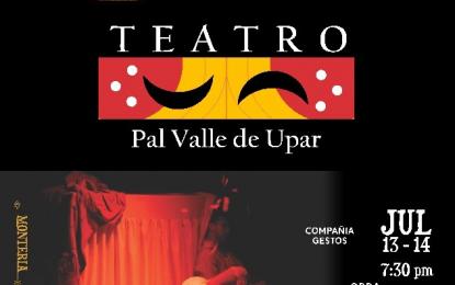 Desde este viernes, Valledupar 'respirará'  tres meses de teatro nacional