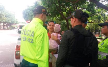 Llanto de la bebe delató a sus raptores ante Policías en Valencia de Jesús