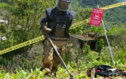 Brigada de Ingenieros entrega otros 35 municipios libres de sospecha de minas