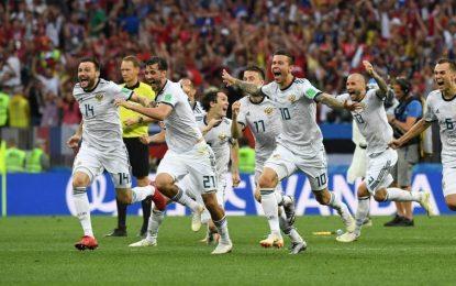 ¡Rusia logró la hazaña!: eliminó por penales a España y va a cuartos