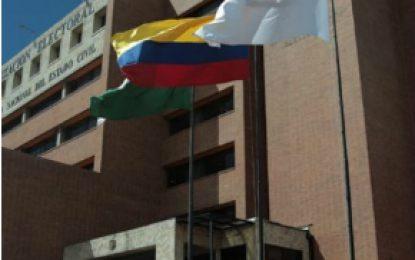 Centro Democrático presentó candidatos a magistrados del Consejo Nacional Electoral